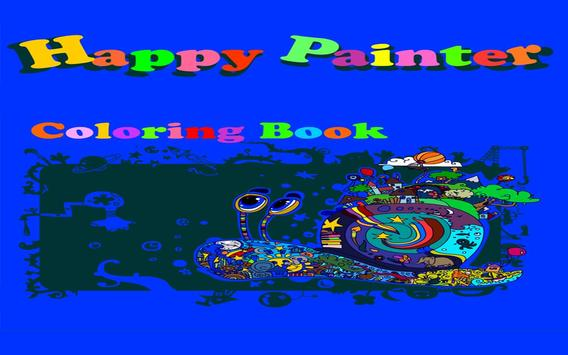 Happy Painter - Coloring Book poster