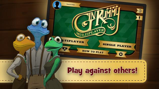 Gin Rummy Multiplayer poster