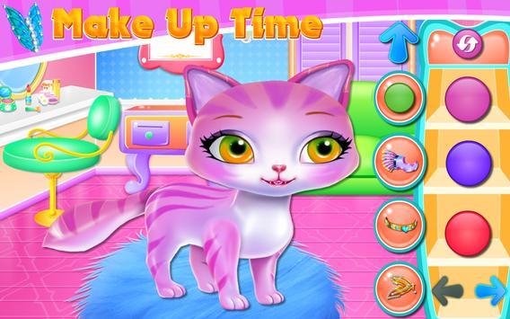 Cute Kitty Fashionista Day apk screenshot