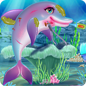 Injured Dolphin Care icon