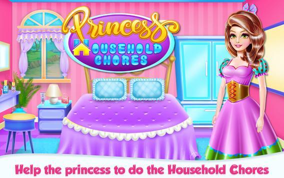 Princess House Hold Chores poster