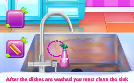 Princess House Hold Chores apk screenshot