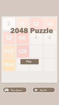 New 2048 puzzle poster
