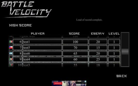 Battle Velocity apk screenshot