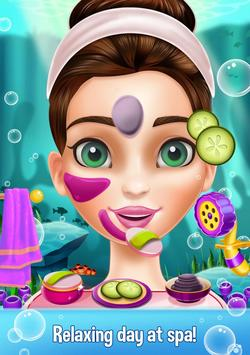 Mermaid Makeover Beauty Salon - Facial Treatment poster