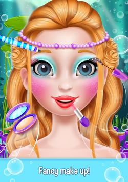 Mermaid Makeover Beauty Salon - Facial Treatment screenshot 9