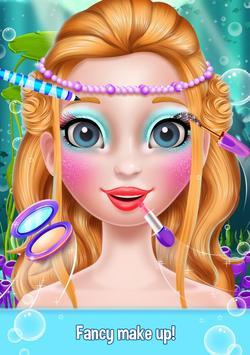 Mermaid Makeover Beauty Salon - Facial Treatment screenshot 13