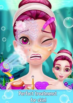 Mermaid Makeover Beauty Salon - Facial Treatment screenshot 8