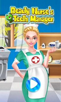 Beauty Nurse's Teeth Manager poster