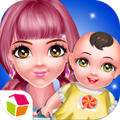 Colorful Lady's Sugary Baby icon