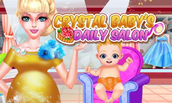 Crystal Baby's Daily Salon poster