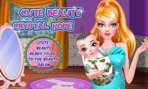 Cute Beauty Crystal Home apk screenshot