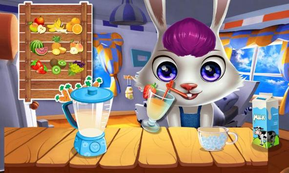 Cute Bunny's Sweet Castle apk screenshot