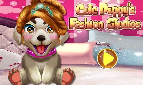 Cute Puppy's Fashion Studios poster