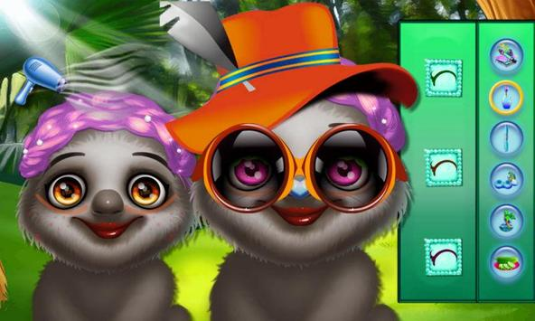 Dream Sloth's Makeup Party apk screenshot