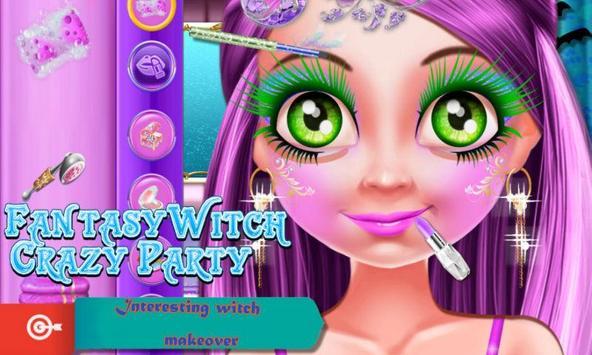 Fantasy Witch Crazy Party apk screenshot