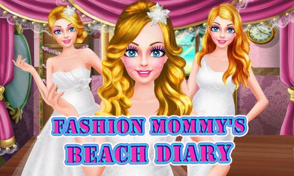 Fashion Mommy's Beach Diary poster