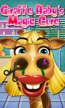 Giraffe Baby's Magic Cure poster