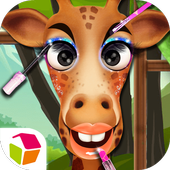 Giraffe Princess Dream Makeup icon