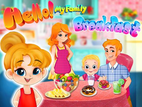 Hello!My Family Breakfast-Food apk screenshot