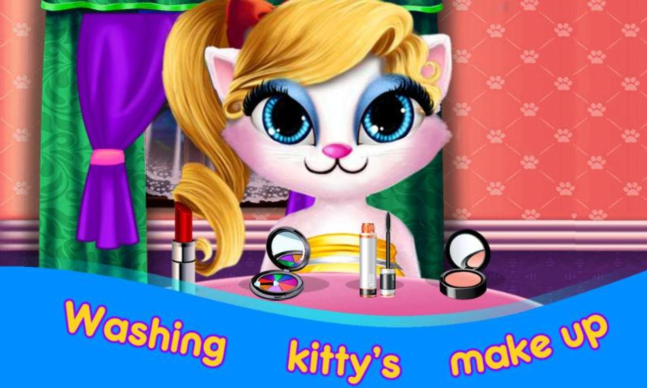 Kitty princess hair salon for android apk download - Princesse kitty ...