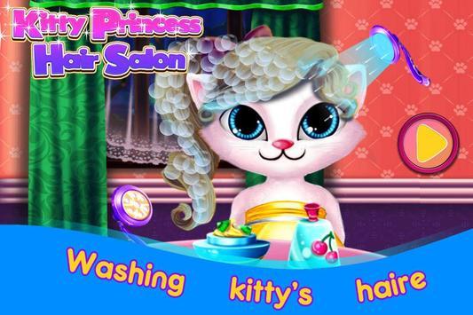 Kitty Princess Hair Salon apk screenshot