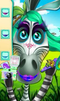 Little Zebra Makeover Resort apk screenshot