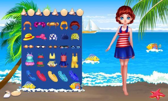 Lori Girl's Beach Diary apk screenshot