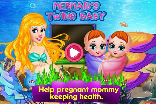 Mermaid's Twins Baby-Preganant apk screenshot