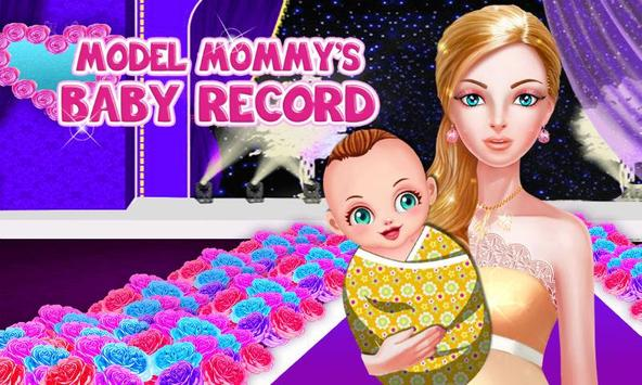 Model Mommy's Baby Record poster
