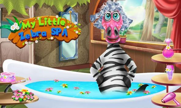My Little Zebra Spa screenshot 1