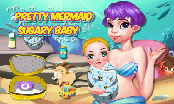 Pretty Mermaid Sugary Baby poster