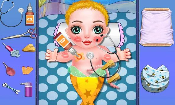 Pretty Mermaid Sugary Baby apk screenshot