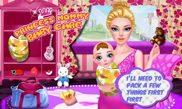 Princess Mommy Baby Care poster