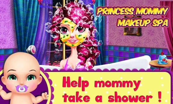 Princess Mommy Makeup SPA poster
