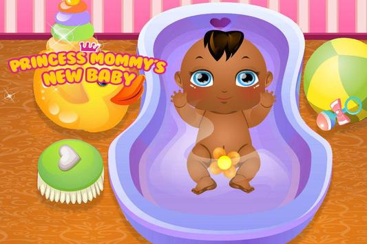 Princess Mommy's Newborn Baby apk screenshot