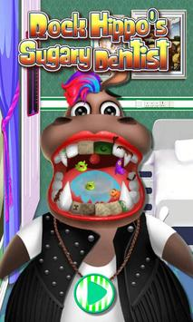 Rock Hippo's Sugary Dentist poster