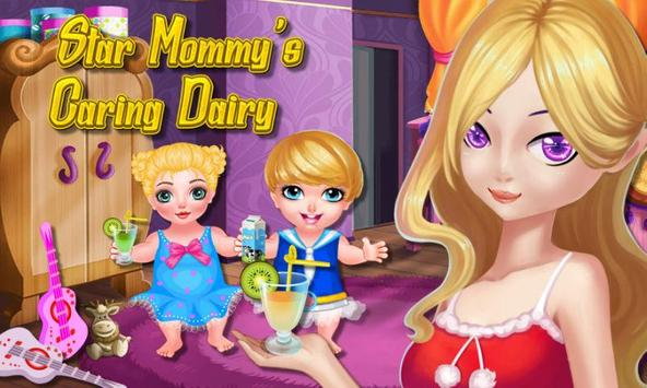 Star Mommy's Caring Dairy poster