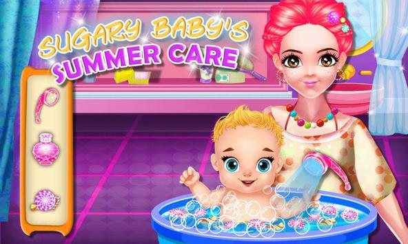 Sugary Baby's Summer Care poster