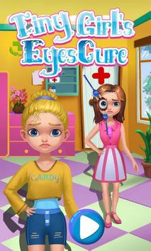 Tiny Girl's Eyes Cure poster