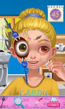 Tiny Girl's Eyes Cure screenshot 1