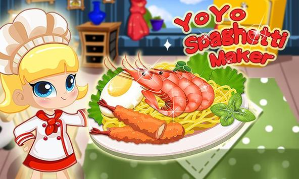YoYo Spaghetti Maker-Pasta poster