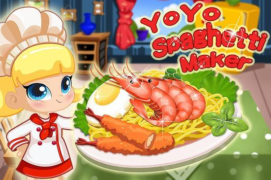 YoYo Spaghetti Maker-Pasta apk screenshot