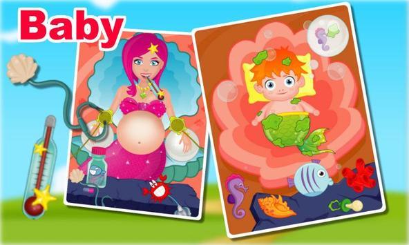 Pregnant Mermaid Mommy apk screenshot