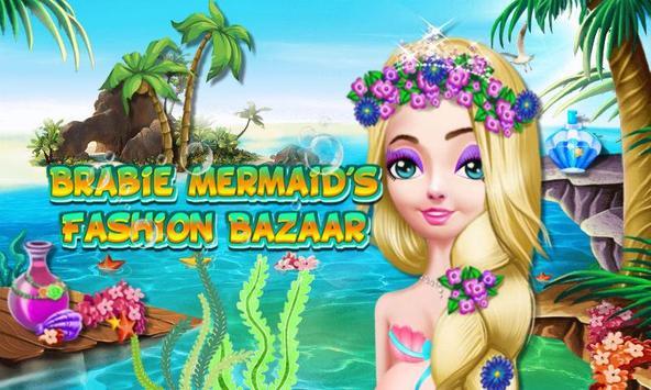 Brabie Mermaids Fashion Bazaar poster
