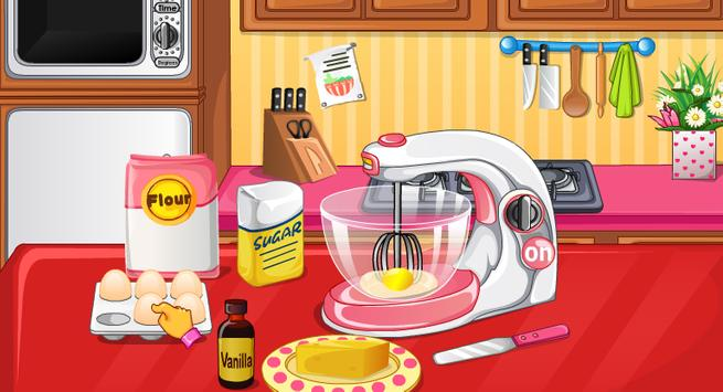 Love Cake Cooking Games Poster