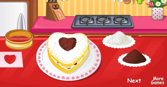 Love Cake Cooking Games Screenshot