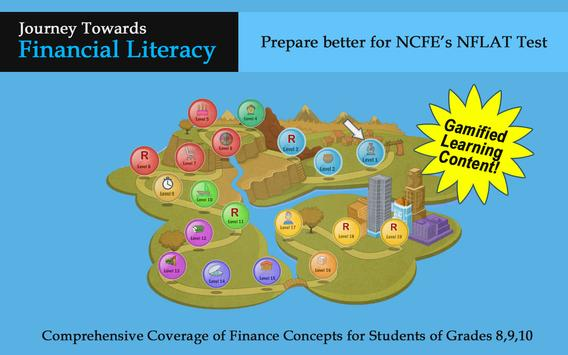Financial Literacy Game poster