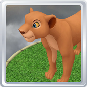 Virtual Pet 3D -  Cartoon Lion icon