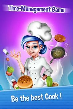 Chef Cooking Mad 🍔 Fast Food Restaurant Manager poster